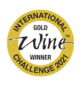 International Wine Competition 2021 - Gold Medal